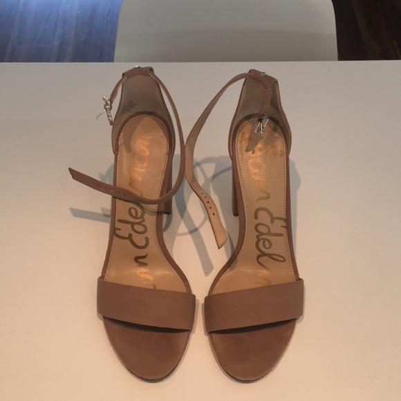 Sam Edelman Shoes - Sam Edelman Nude Block Healed Sandals